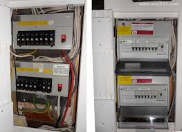eec247 consumer units and fuseboxes installed to the latest iee
