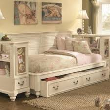 White Bookcase Daybed Daybed With Bookcase And Storage Thesecretconsul Com