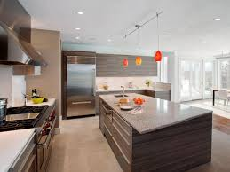 amazing industrial residential kitchen come with rectangle shape