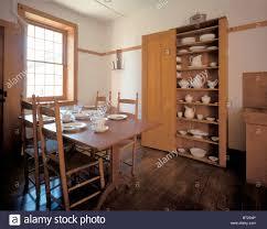 Shaker Dining Room Table Ministry Dining Room At Hancock Shaker Community In Massachussetts