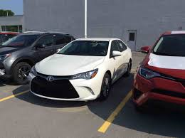 new 2017 toyota camry 4 door sedan se 6a for sale in kingston