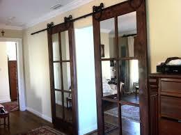 Single Mirror Closet Door Closet Track Bypass Closet Doors 3 Panel Sliding Doors
