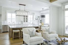 kitchen accent furniture white accent chairs with grey ikat pillows transitional kitchen