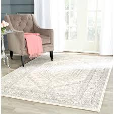 safavieh adirondack ivory silver rug 11 u0027 x 15 u0027 overstock