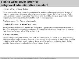 cover letters for executive assistant positions cover letter for