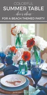 Home Decor On Summer Amazing Summer Table Decorating Ideas Home Design Image Top On