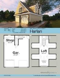 craftsman style garage plan harlan