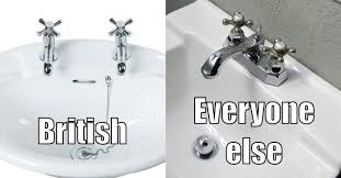 Faucet In British English The Stomach Turning Reason The British Use Separate And Cold