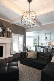 living room lighting options living room lighting rustic black iron chandelier and ceiling