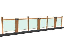 glass railing design for balcony 3d model 3dsmax 3ds files free
