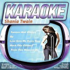 country music karaoke free country music cds shania twain 2005 ebay