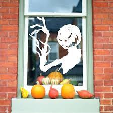 skellington pumpkin king window decal nightmare before