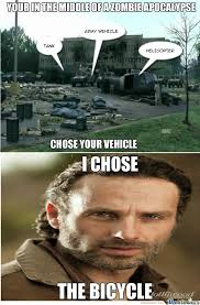 Walking Dead Season 1 Memes - rick grimes you are high as hell rick grimes vehicle and