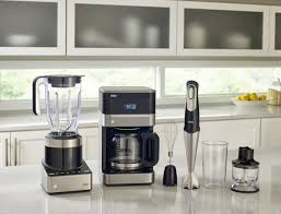 Kitchen Collections Appliances Small Braun Returns To The Kitchen With Blenders And Coffee Makers