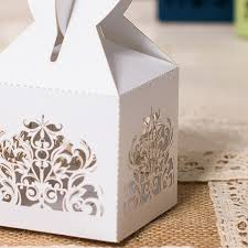 wedding favor boxes white heart laser cut wedding favor boxes ewfb110 as low as 0 93