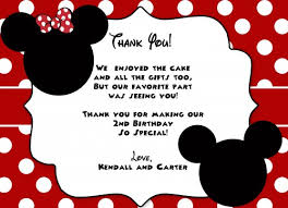 minnie mouse birthday template invitation