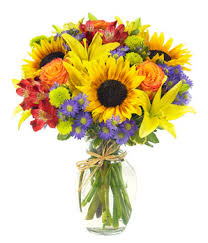 sunflower bouquet european garden bouquet at from you flowers