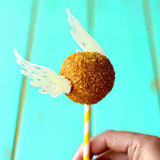 cake pops golden snitch cake pops the scran line tastemade