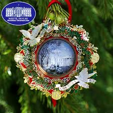 2013 white house woodrow wilson ornament