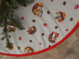 christmas tree skirt christmas decor nordic christmas swedish