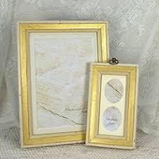 antique gold shabby chic ornate swept vintage picture frame for a