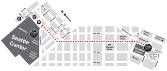 Map Of Seattle Airport by Route Info Seattle Monorail Blog