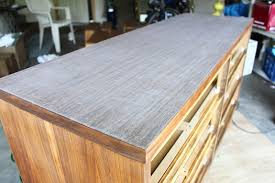 how to refinish veneer table project 1 refinishing a thinly veneered dresser bunches of joy