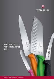 Victorinox Kitchen Knives Vx Cut Catalogue 2015 En By Euroelite Issuu