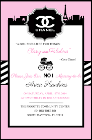 chanel baby shower coco chanel baby shower party ideas photo 1 of 16 catch my party