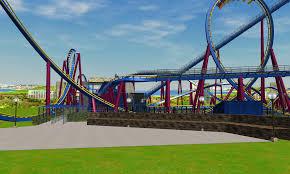 Six Flags Parking Wip Six Flags Magic Mountain Recreation X2 Sneak Peek