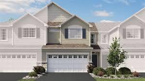 dunham floor plan in the townes at brookmere calatlantic homes