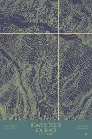 beaver creek colorado topo series map