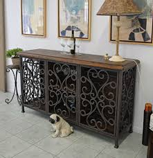 Small Sideboard With Wine Rack Small Buffet Rustic Sideboard Table Furniture Decor Trend