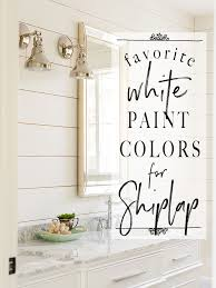 best white paint for kitchen cabinets home depot white paint colors 5 favorites for shiplap the house