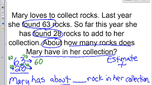 estimation word problems 4th grade estimating in word problems