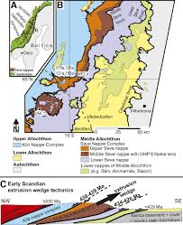 early to mid silurian extrusion wedge tectonics in the central