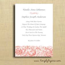 Wedding Invitations With Rsvp Wedding Invitations Collection Simply Paperie