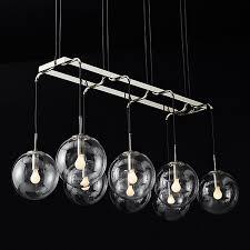 Ball Chandelier Lights Round Glass Ball Chandeliers Lighting Beonelighting Com