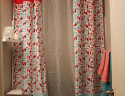 Ruffle Shower Curtain Uk - shower gratifying double swag shower curtain target unforeseen