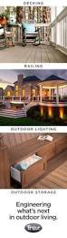 Dream Decks by Best 25 Trex Railing Ideas On Pinterest Stair And Step Lights