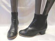 womens boots uk jones jones block mid heel 1 5 3 in boots for ebay
