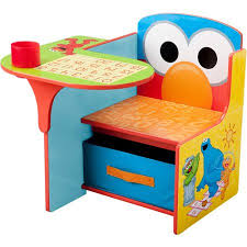 play desk for sesame street elmo desk chair with storage walmart com