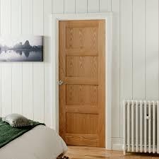 Jeld Wen Interior Door Jeld Wen Shaker 4 Panel White Oak Door Next Day