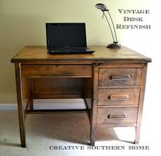 how to refinish a desk vintage desk refinish