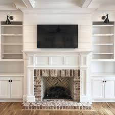 Built In Bookshelves Fireplace by Such A Great Fireplace And Built In Surround Dream Home
