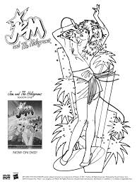 hasbro coloring pages jem and the holograms coloring pages jem aka jerrica benton