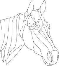 stained glass horse patterns free google search stained glass
