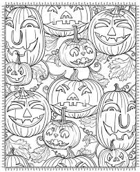 pin 20 printable halloween pages color