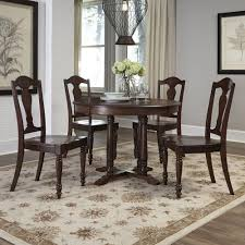 boraam kitchen dining room furniture furniture the home depot country comfort 5 piece aged bourbon dining set