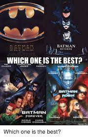 Val Kilmer Batman Meme - 25 best memes about batman forever batman forever memes